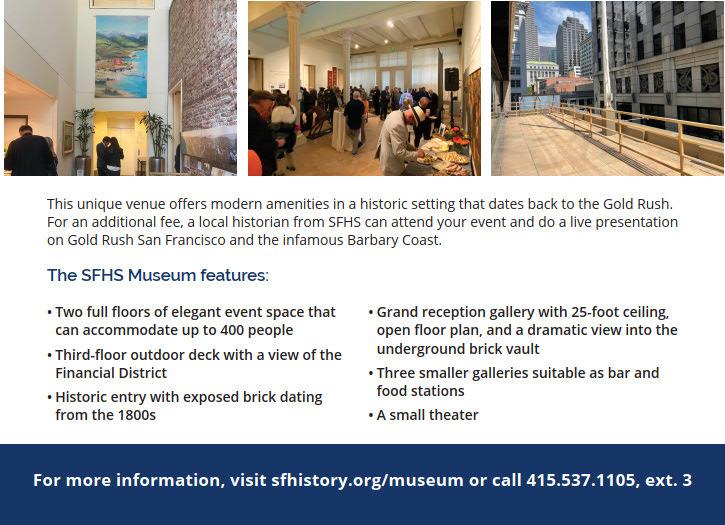 SFHS Museum Rental 2