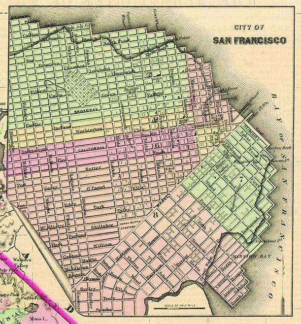 SF part of 1855 Colton California