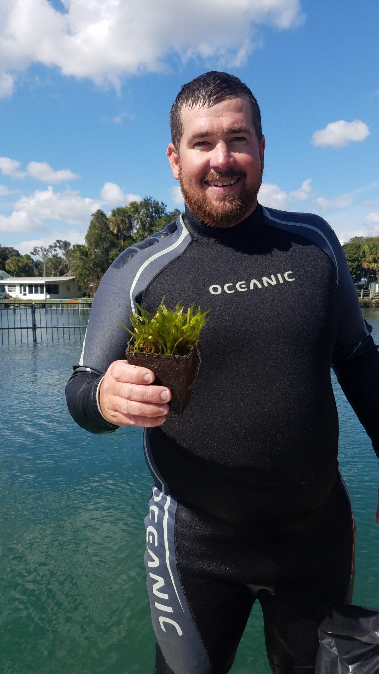 Grass Planting diver