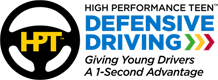 High Performance Teen (HPT) Defensive Driving Logo