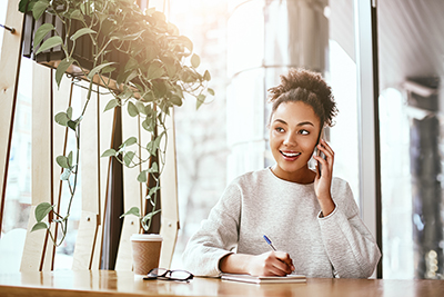 Grant Gamble Business Consulting | Blog | Mindful Leadership | Setting the Stage for Meaningful Interactions and Effective Communication | In Phone Call Meeting Image