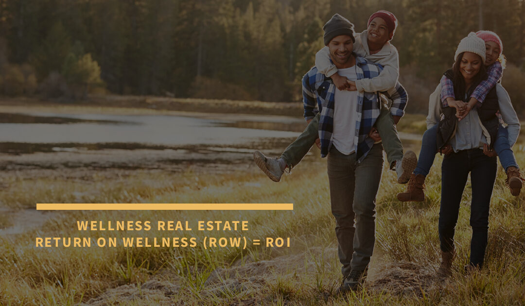 Wellness Real Estate Return on Wellness (ROW) = ROI