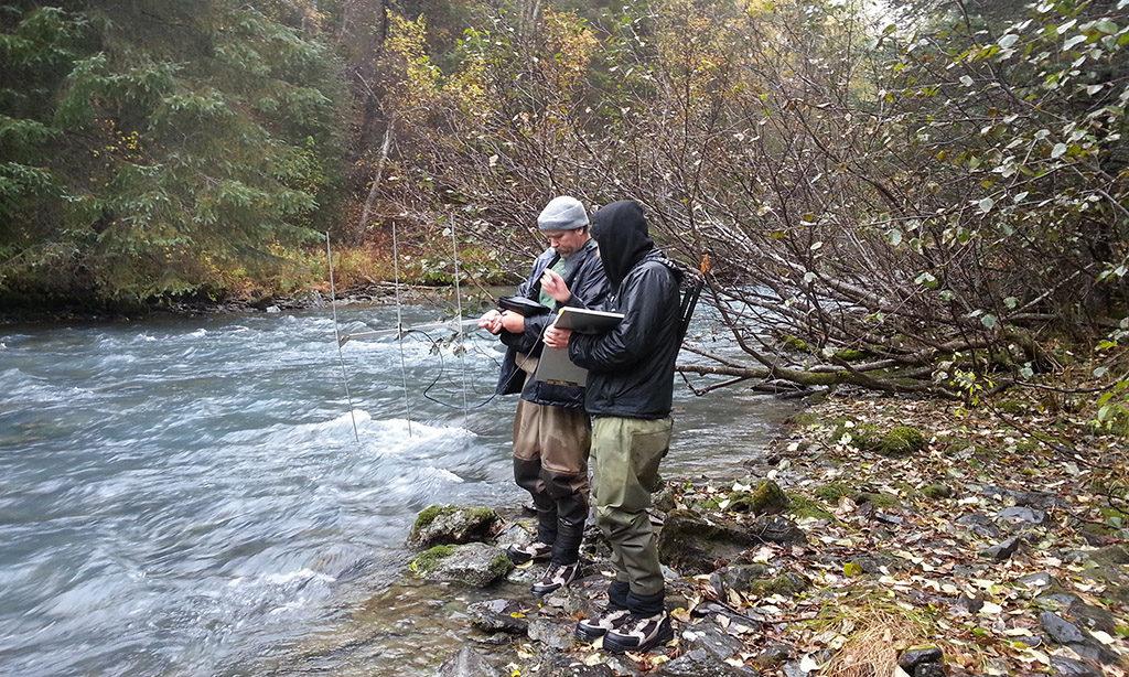 Testing Fish Radio Telemetry Equipment
