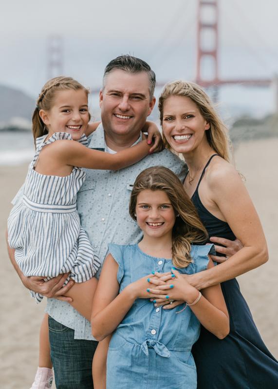 Family Photography Baker Beach