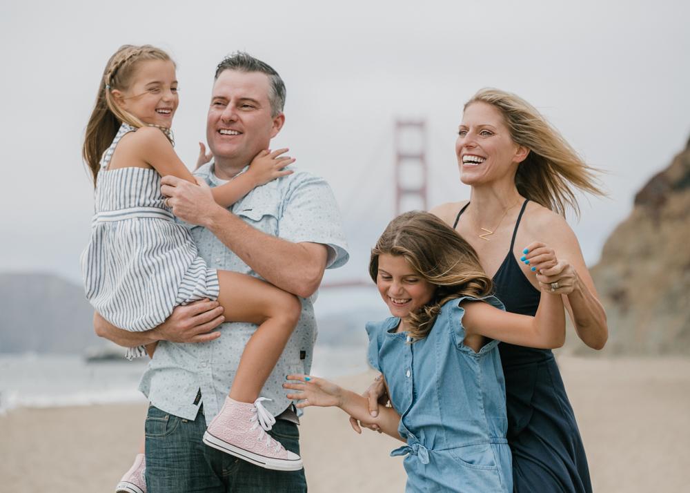 Family Fun at the beach