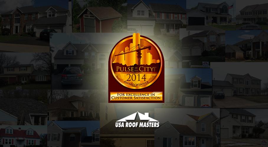 USA Roof Masters Pulse Award 2014 Roofing Bensalem PA
