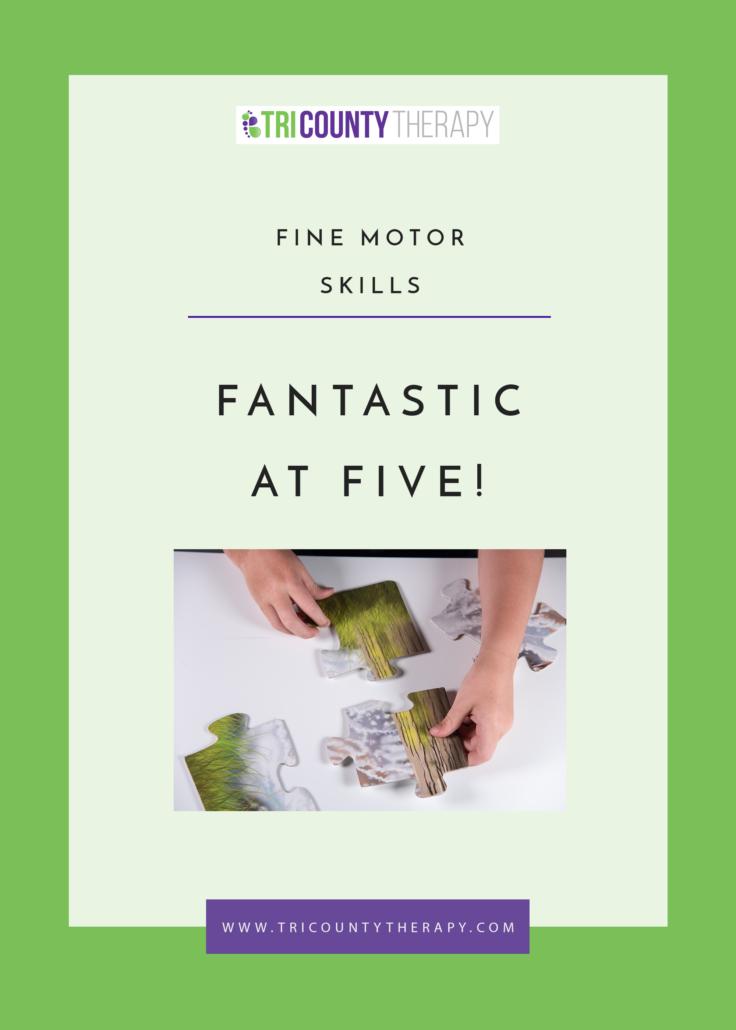 Fine Motor Skills: Preschool Readiness, Fantastic at Age 5