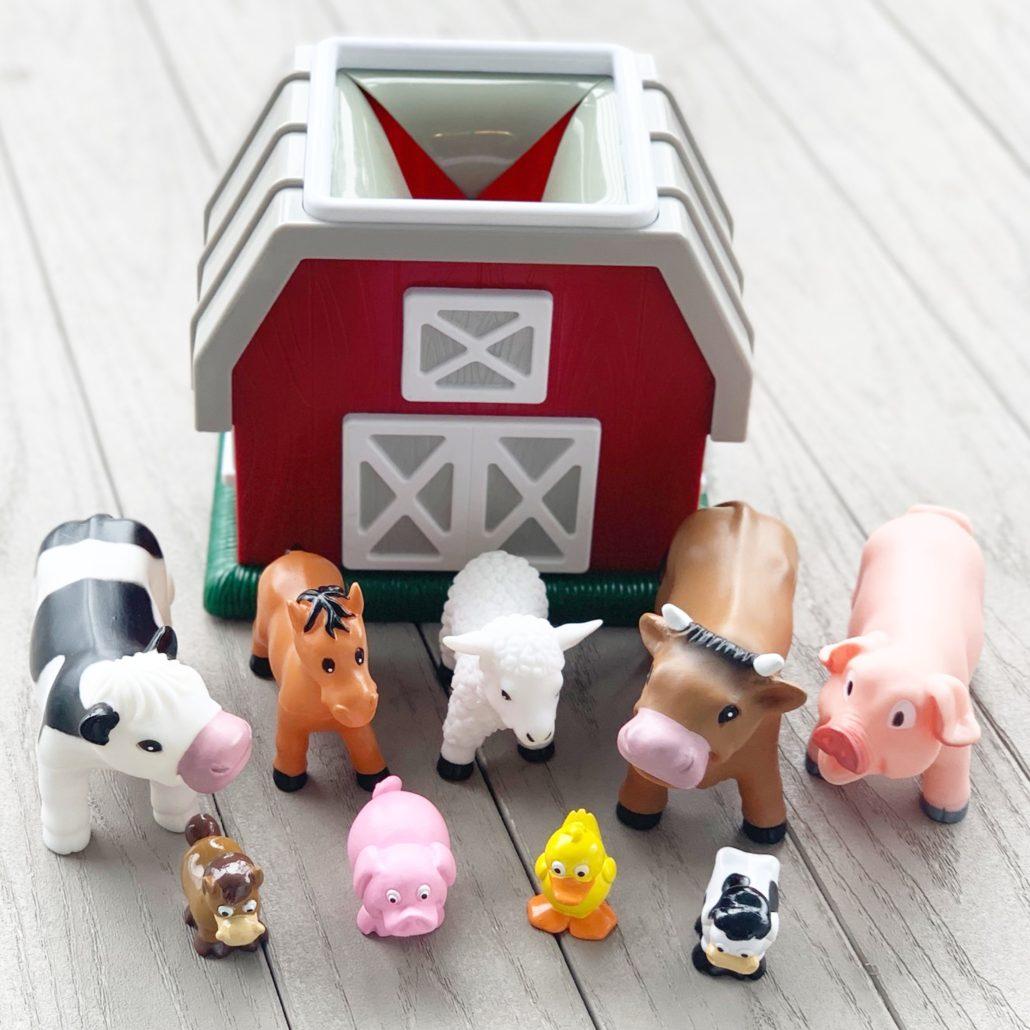 Farm Animal Play Set