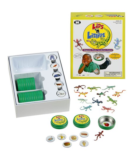 Lids and Lizards game