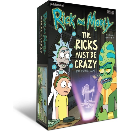 Ricky And Morty : The Ricks Must Be Crazy Multiverse Game