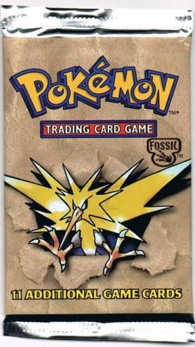 Pokémon: Fossil Unlimited Booster Pack