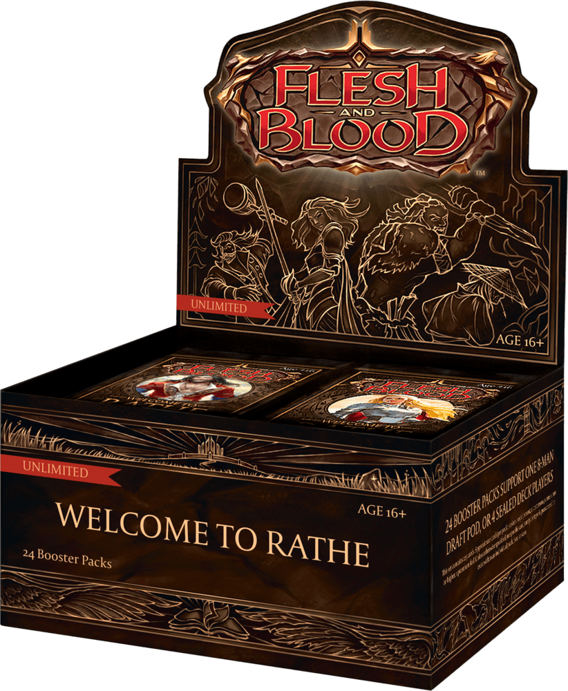 Flesh & Blood: Welcome to Rathe – Booster Box [Unlimited Edition]
