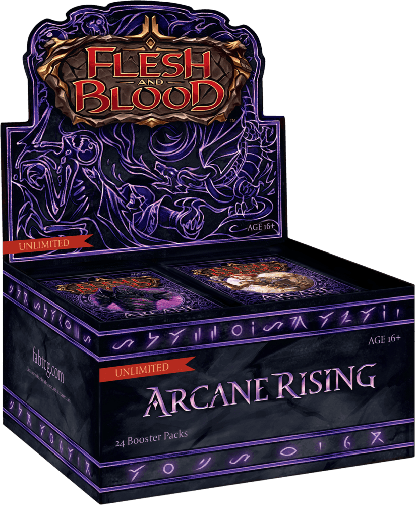 Flesh & Blood: Arcane Rising – Booster Box [Unlimited Edition]