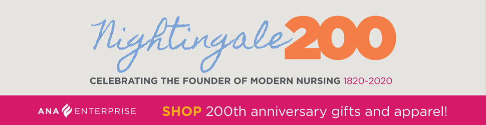 Nightingale 200. Celebrating the founder of modern nursing. 1820-2020. Shop 200th anniversary gifts and apparel!