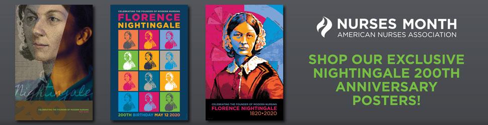 Nurses Month. American Nurses Association. Shop our exclusive 200th anniversary posters!