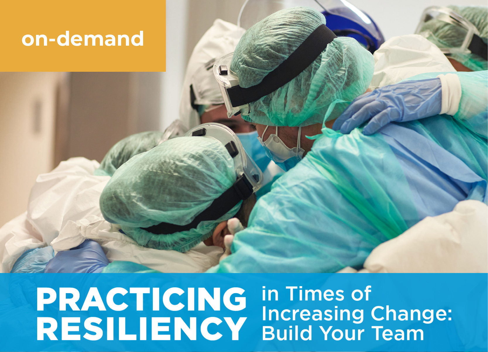 Practicing Resiliency in Times of Increasing Change: Build Your Team