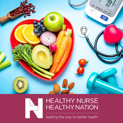 Healthy Nurse, Healthy Nation. Leading the Way to Better Health