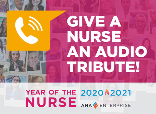 Give a Nurse and Audio Tribute