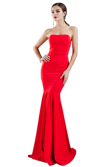 Valentine's Day Dresses - Red Mermaid Party Dress