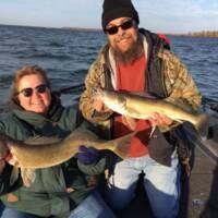 George Wells Fishing Trips Couples Trip on Leech Lake