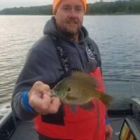 George Wells Fishing Trips Sunfish on Lake Inguadona