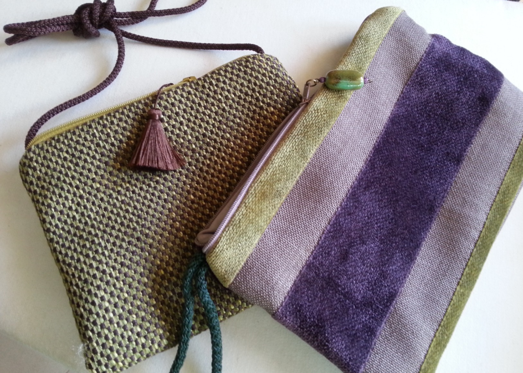 Reclaimed fabric samples