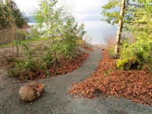 gravel pathway at cascade 3