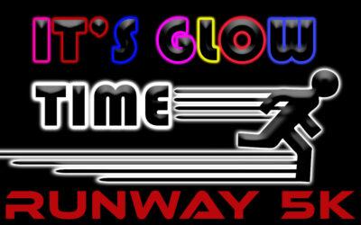 5k Glow Run on the Runway