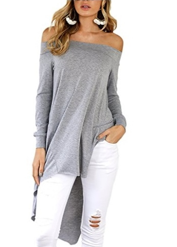 blusas off shoulder