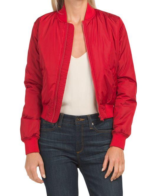 bomber jacket en las chaquetas otoño invierno