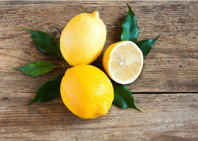 mascarilla en casa de limon