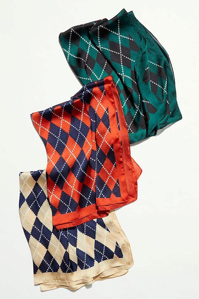 pañuelos de seda en los accesorios fall winter