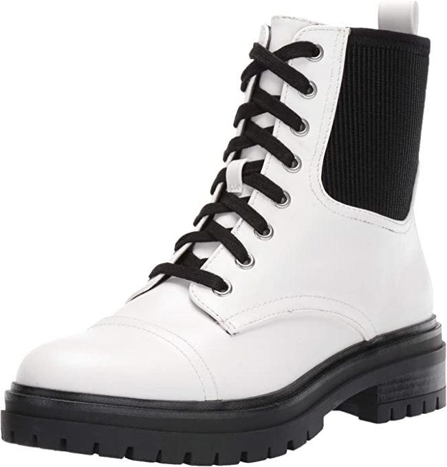 combat boots y botas blancas fall winter