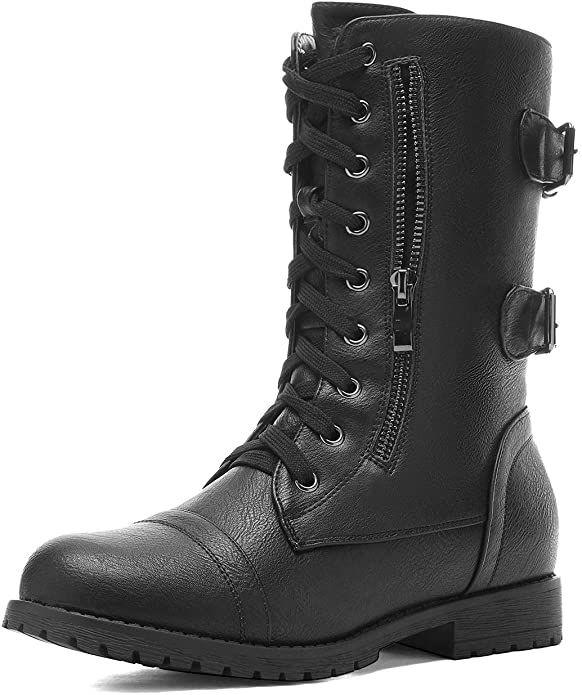 combat boots estan de moda