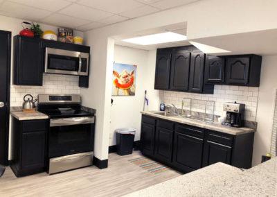 Morning Star Clinic kitchen