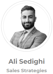 Ali Sedighi, Sales Strategist, Home Equity Loan Connector