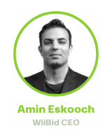 Amin Eskooch, WiiBid CEO & Co-Founder, Private Mortgage Expert