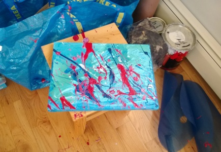 Painting While Intoxicated – Part 1