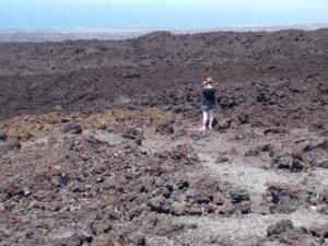 big island hawaii ka lae lava field