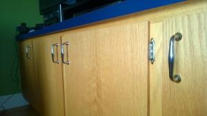 living room cupboard new door hardware