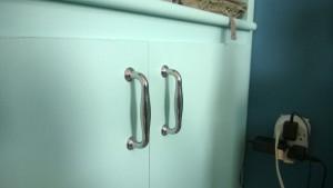 bedroom built-in cupboard new door hardware