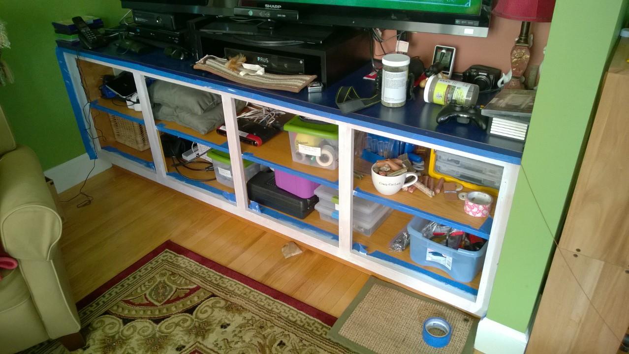 Living Room Cupboard – Part 1