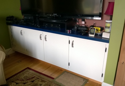 Living Room Cupboard – Part 3