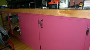 painting the living room cupboard benjamin moore night flower raspberry