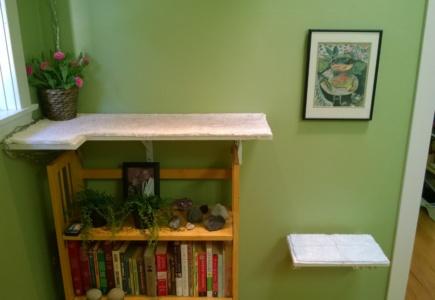 Upstairs Cat Platforms – Part 4