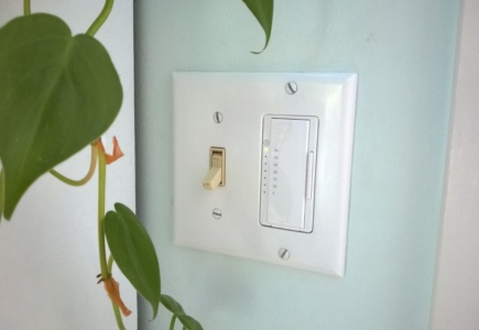 A Timer For The Bathroom Fan