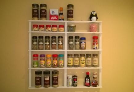 DIY Spice Rack – Part 2