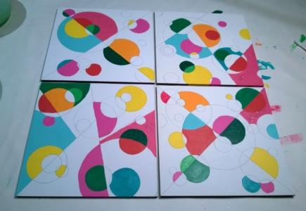 Circle Mosaic Paintings – Part 2