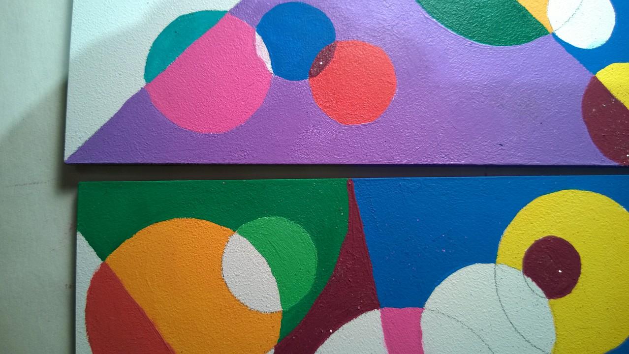 Circle Mosaic Paintings – Part 5