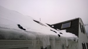 diy ice dam roof ice melters on the roof during snowmageddon 2015